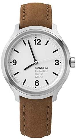 Mondaine Helvetica No 1 Wrist Watch for Men (MH1....