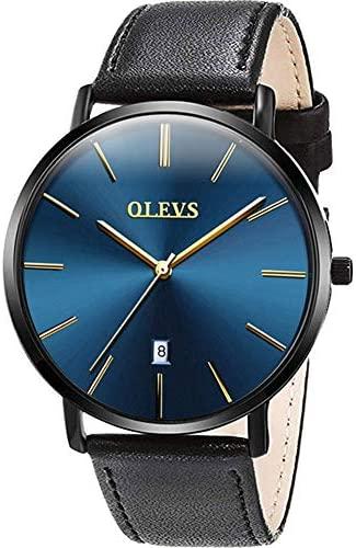OLEVS Men's Ultra Thin Watches Watches for Men Mi...