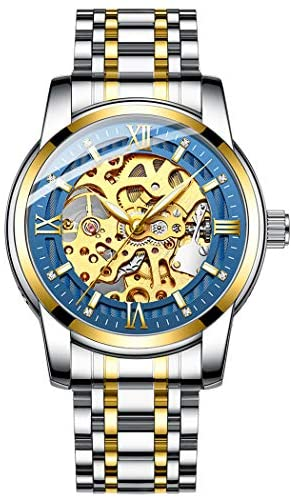 Original Delicate Skeleton Mechanical Watches for...