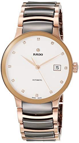 Rado Unisex Centrix Diamond Stainless Steel Swiss...