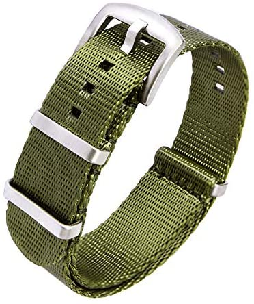 Ritche Nato Watch Strap with Heavy Buckle 18mm 20...