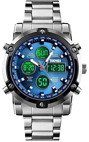 SKMEI Mens Wrist Watch, Waterproof Military Analo...
