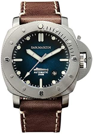 San Martin Automatic Watch for Men,MensDive Watc...