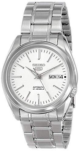 Seiko Men's Year-Round Automatic Watch with Stain...