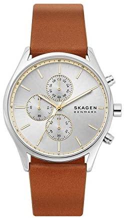 Skagen Men's Holst Stainless Steel Casual Quartz ...