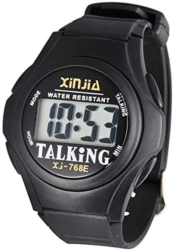 Talking Wrist Watch w/Alarm Easy to Hear and Easy...