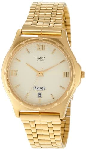 Timex Classics Analog Gold Dial Men's Watch - BW0...