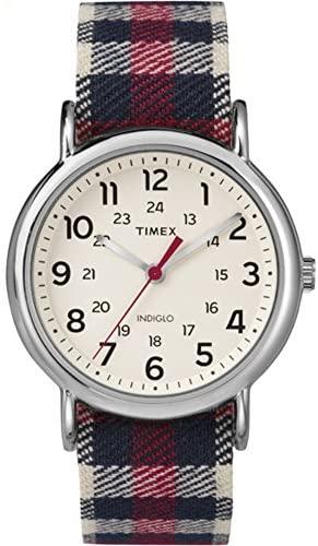 Timex Unisex TW2P89600 Weekender Analog Display Q...