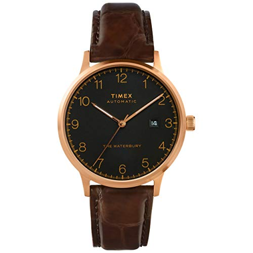Timex Waterbury Classic Automatic 40mm Brown Blac...
