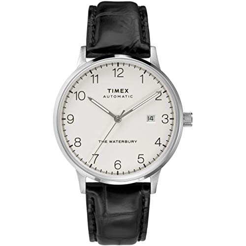 Timex Waterbury Classic Automatic 40mm Silver Bla...