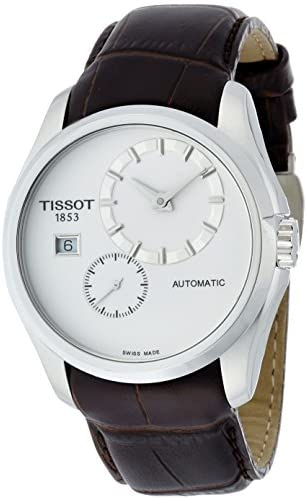 Tissot Couturier White Dial Stainless Steel Autom...