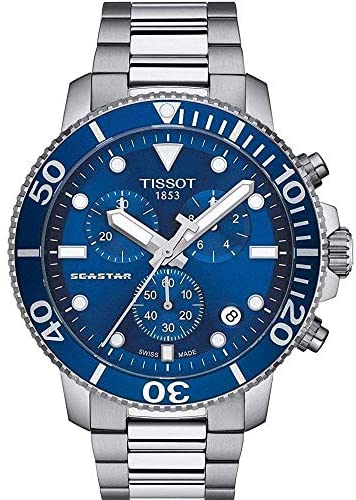 Tissot Men's Seastar 660/1000 Swiss Quartz Stainl...
