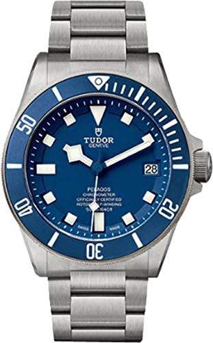 Tudor Pelagos 25600TB Blue Dial Mens Watch w/ Tit...
