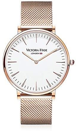 VICTORIA HYDE Analog Quartz Watches for Men Women...