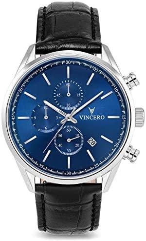 Vincero Luxury Men's Chrono S Wrist Watch - 40mm ...