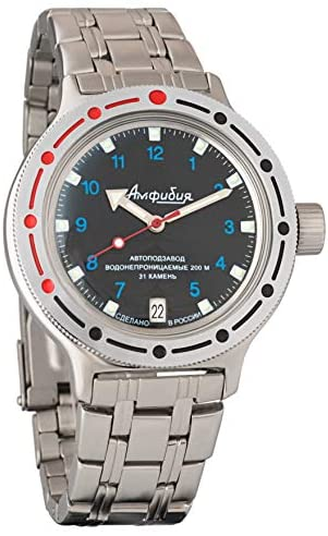 Vostok Amphibian Automatic Self-Winding Russian M...