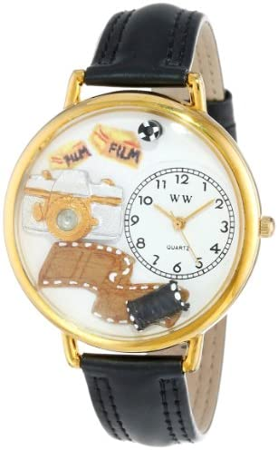 Whimsical Watches Unisex G0610012 Photographer Bl...
