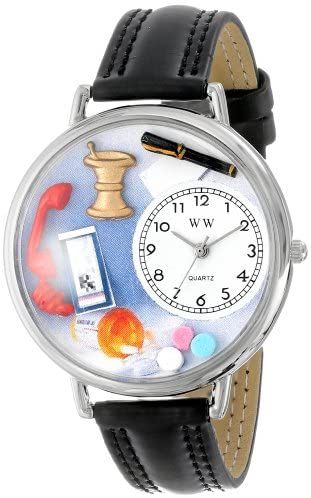 Whimsical Watches Unisex U0620014 Pharmacist Blac...