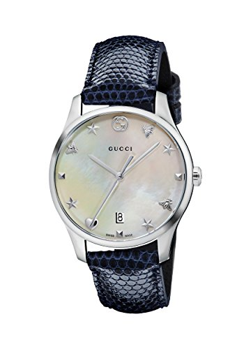Gucci G-Timeless Mother of Pearl Dial Ladies Watc...