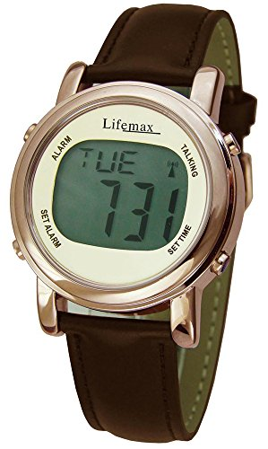 Lifemax Chic Talking Atomic Watch Unisex Quartz W...