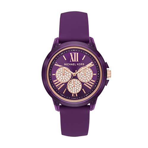 Michael Kors Women's Bradshaw Quartz Watch with S...