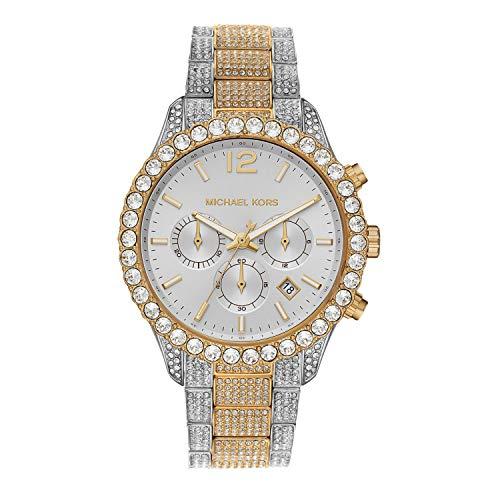 Michael Kors Women's Quartz Watch with Stainless ...