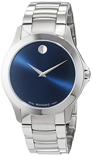 Movado Masino Quartz Movement Blue Dial Men's Wat...