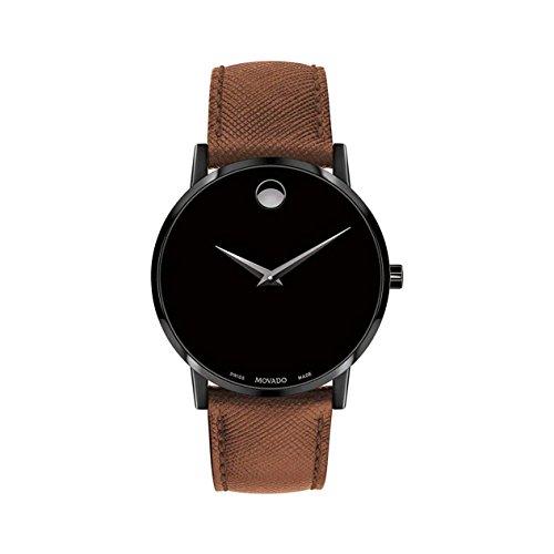 Movado Men's Museum Classic Black Dial Watch - 60...