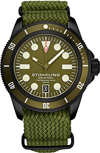 Stuhrling Original Watch for Men - Diver Watch - ...