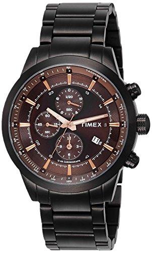 Timex Analog Brown Dial Men's Watch-TW000Y417
