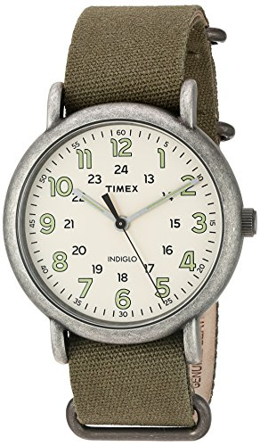 Timex Men's TW2P85900 Weekender Oversize Antiqued...