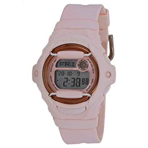 Casio Baby-G Face Protector Baby Pink Rose Tone W...