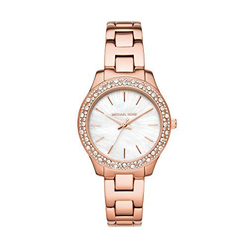 Michael Kors Women's Liliane Quartz Watch with St...