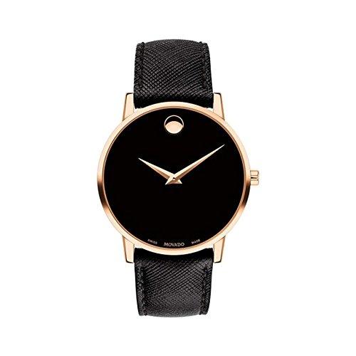 Movado Museum Classic Black Dial Men's Watch 0607...